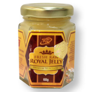 fresh raw royal jelly 60g
